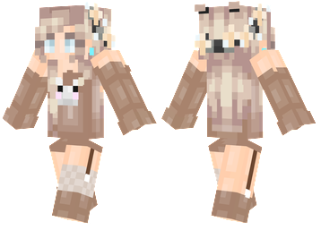 flower bunny minecraft