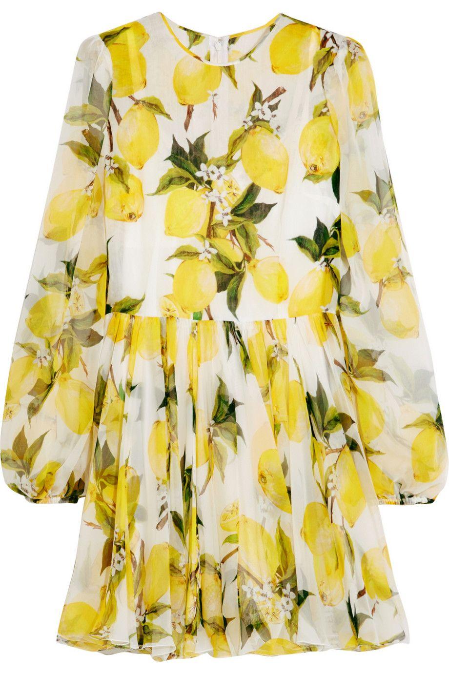 Картинки по запросу платье с лимонами | Платья, Стиль, Лето