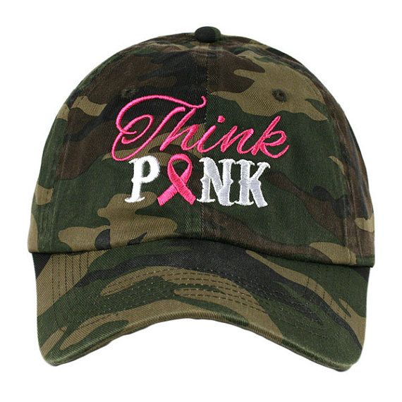 Hats Breast Cancer Think pink hope faith OR by StacysPinkMartini