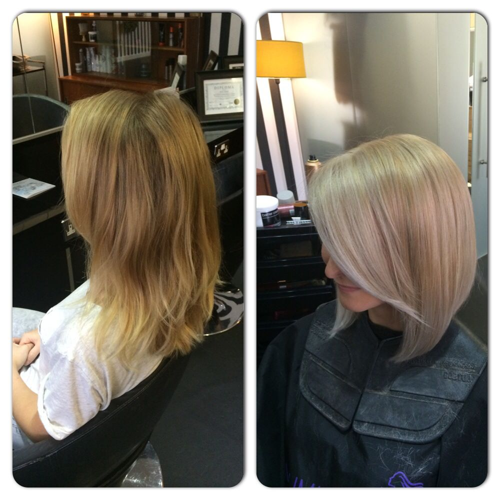 Beautiful colour done at wella