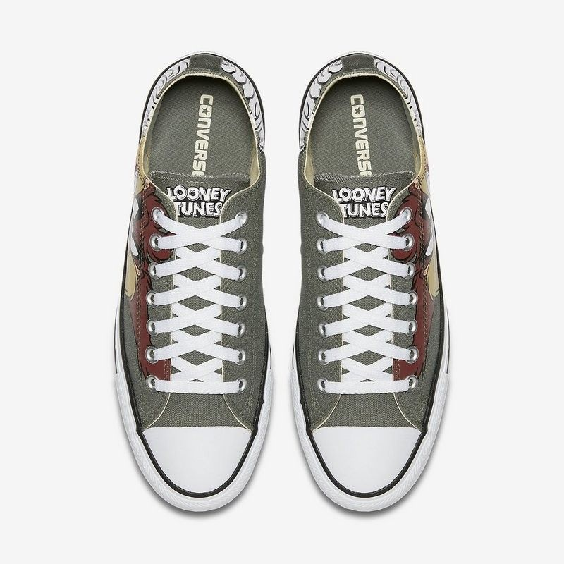 Converse Shoes Green Chuck Taylor All Star Looney Tunes