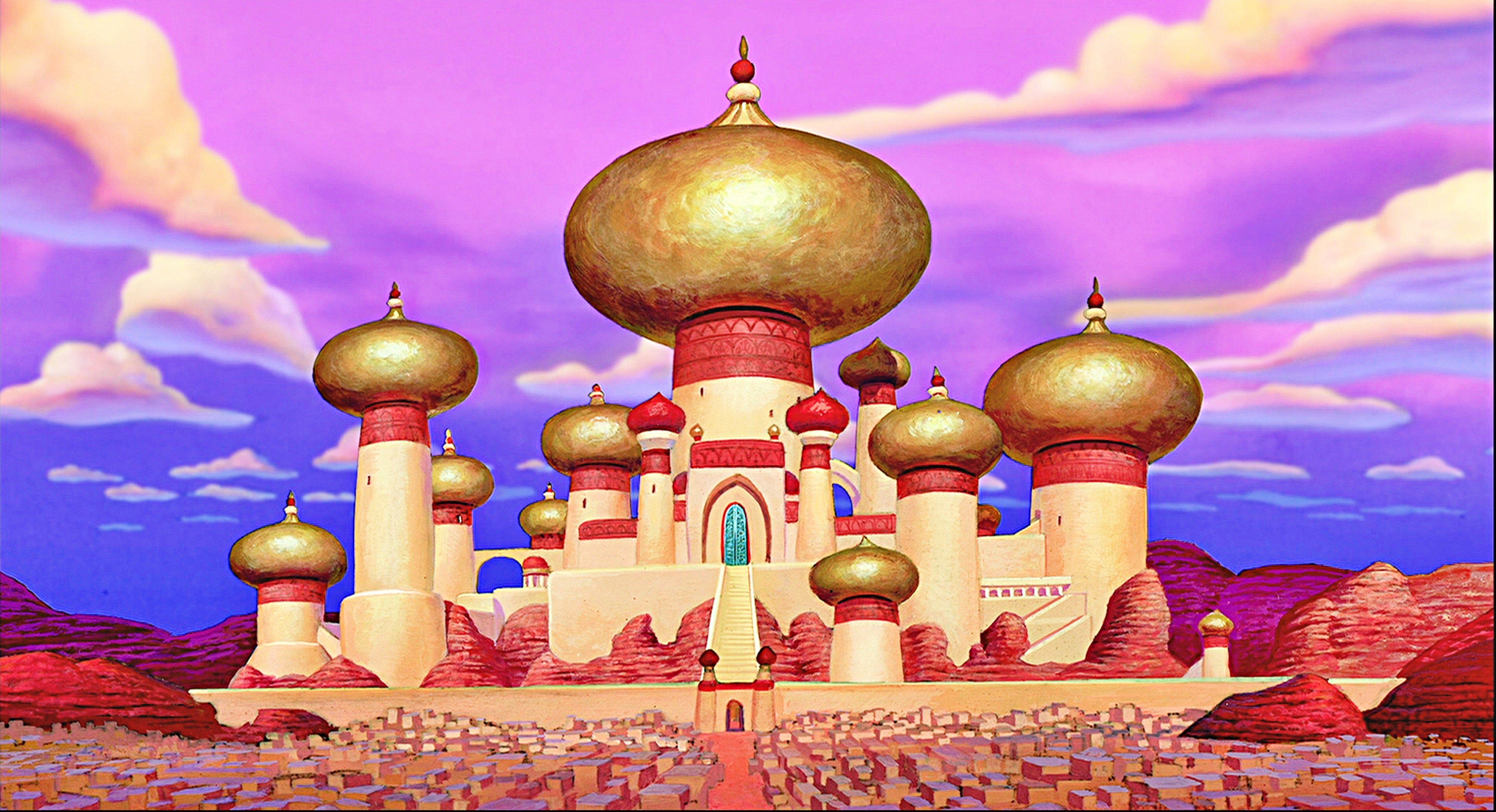 Image result for aladdin taj mahal