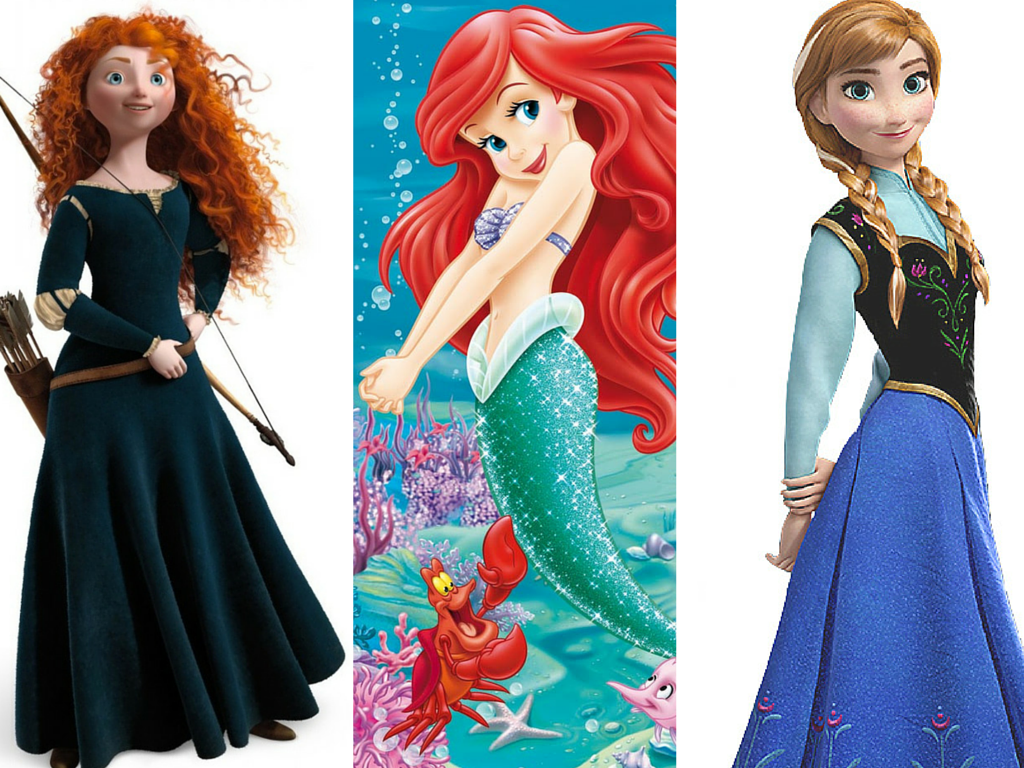 Redhead Disney Princesses And Heroines As Real Women Stunning How To Be A Redhead Wedding Hairstyles For Girls Redhead Girl Redhead Costume