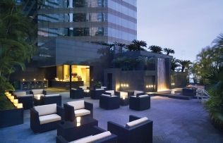 This spot of tranquility at the Grand Hyatt's verdant pool area is one of our favourite spots to get away from it all  http://hk.dining.asiatatler.com/bars/the-waterfall-bar