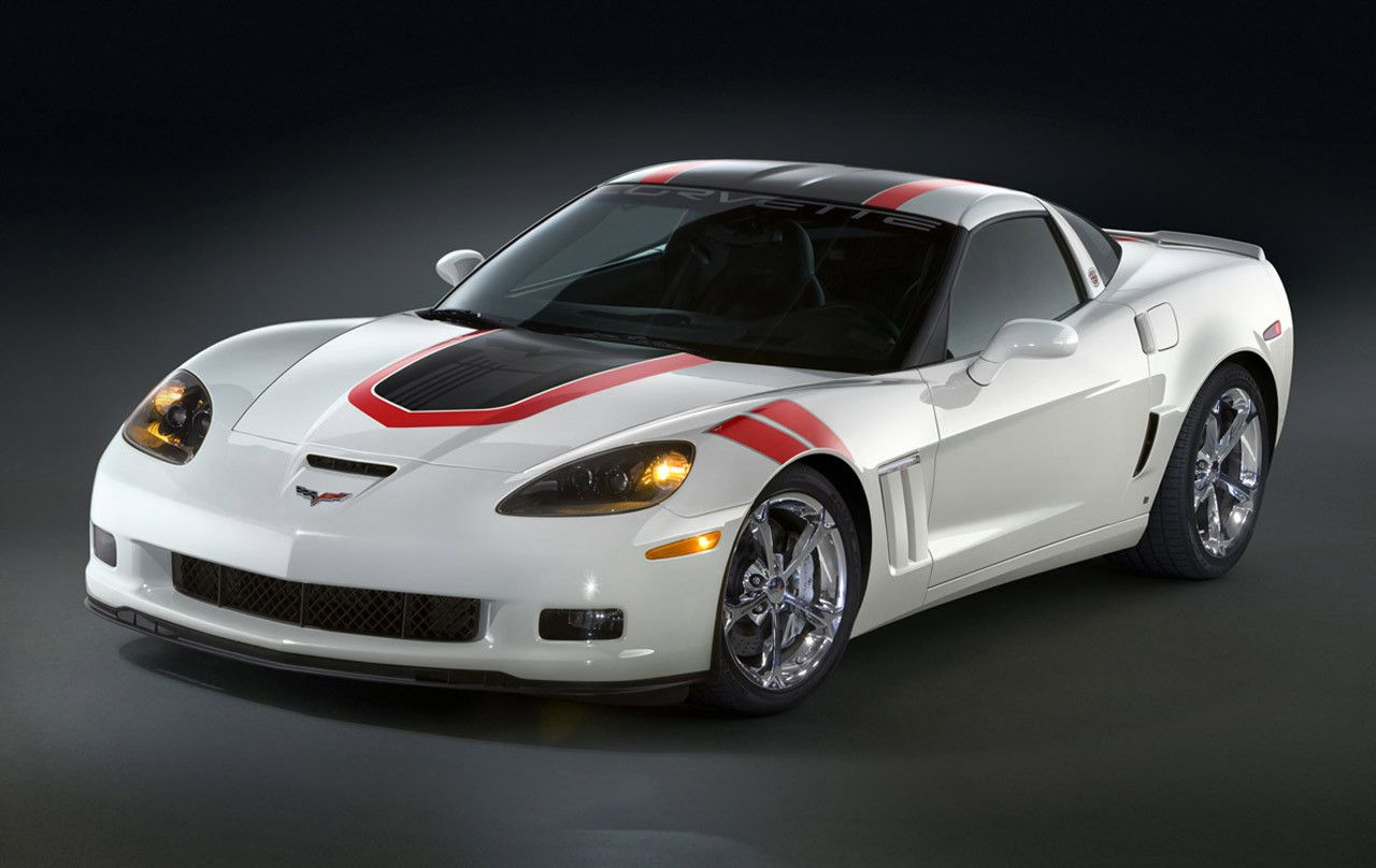 Corvette Grand Sport White c6 Corvette grand sport