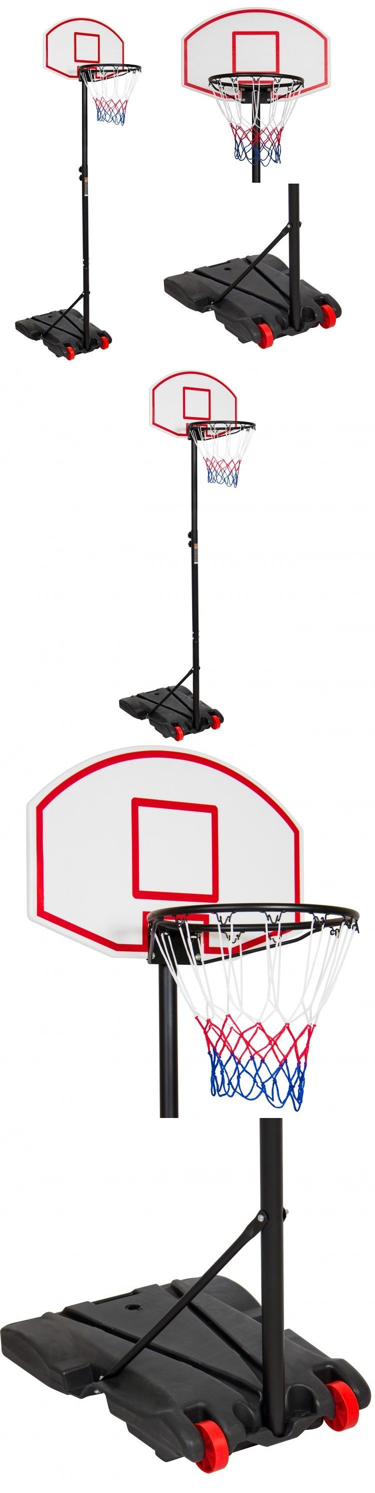 backboard systems 21196 free standing basketball hoop wheeled stand