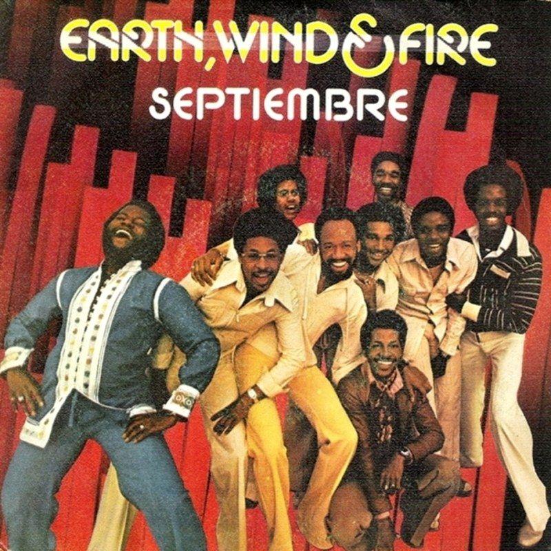 Earth, Wind & Fire – September (single cover art)