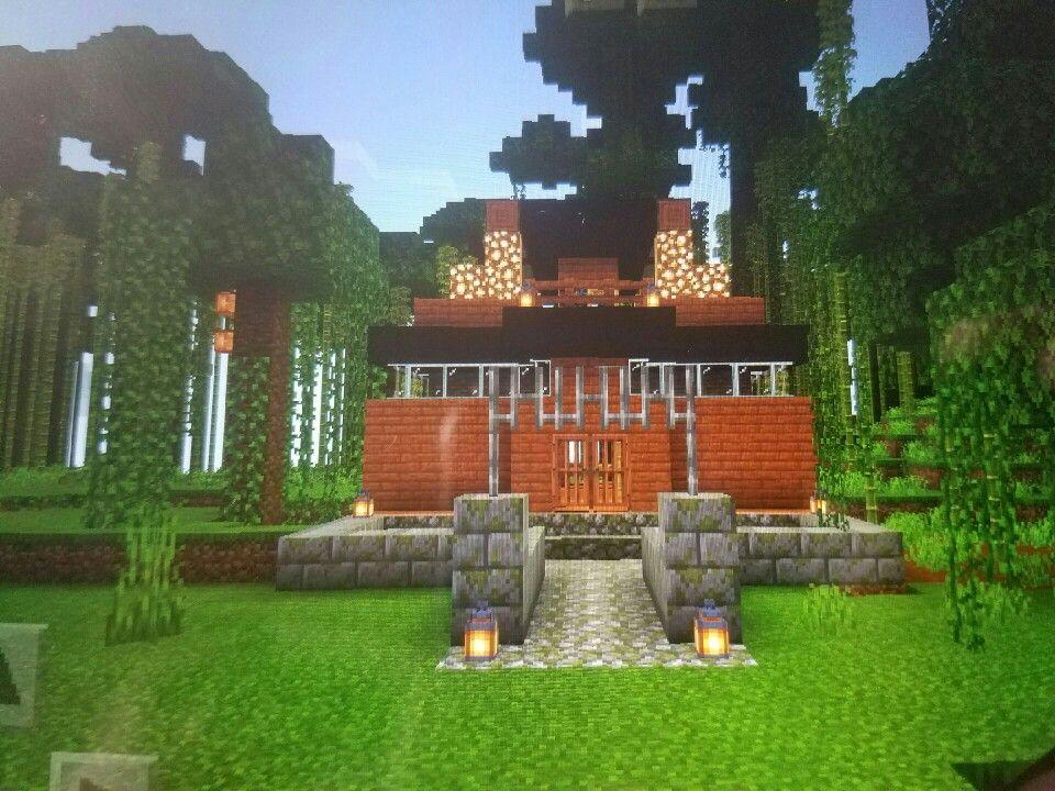 My Acacia Minecraft House Minecraft Houses House Styles House