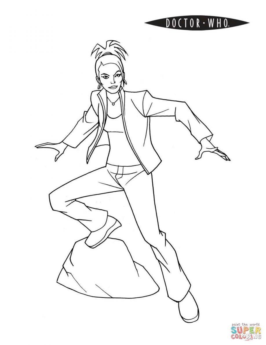 Coloring doctor who coloring pages online doctor who coloring pages