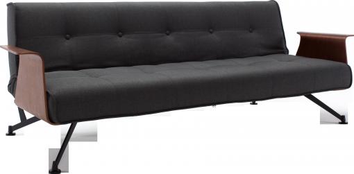 Connor canapé-lit 3 places en tissu Habitat - 890€ | Sofa | Pinterest