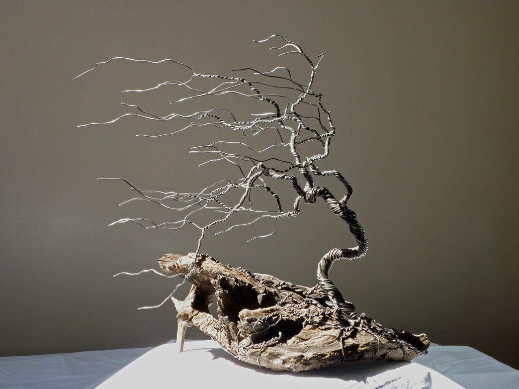 Dad\'s Wire Tree 1-1 by *BlackHoleInAJar on deviantART   Dried ...