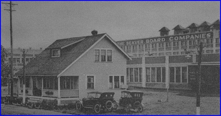 Beaver Board circa 1925 (aka: Beaver Wood Fibre Co  Ltd  -or