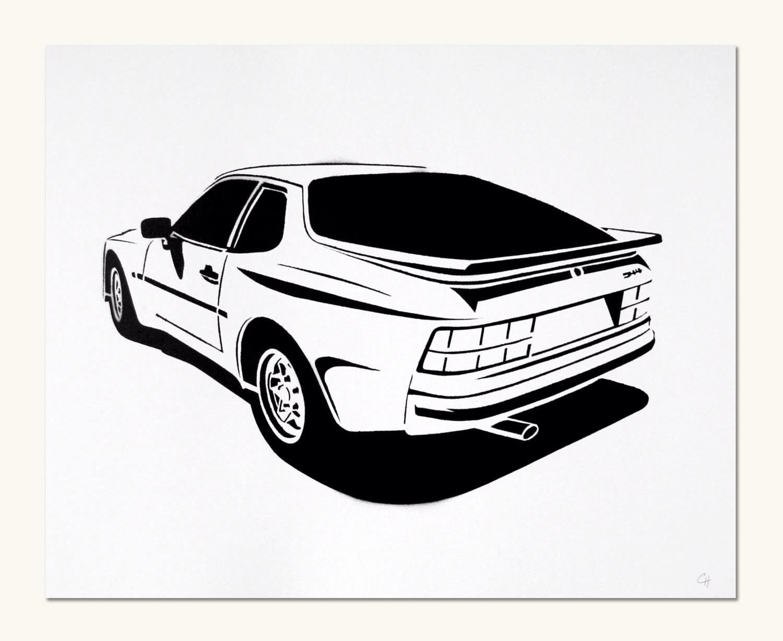 944 Line Art
