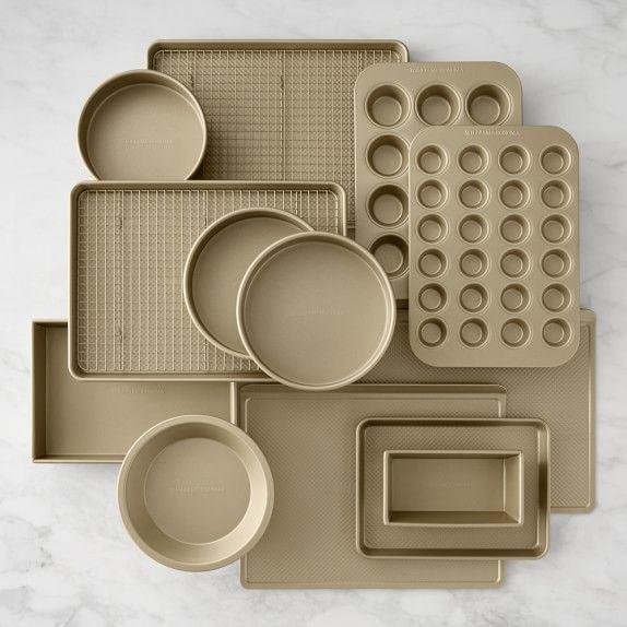 Williams Sonoma Goldtouch Nonstick 15 Piece Bakeware Set