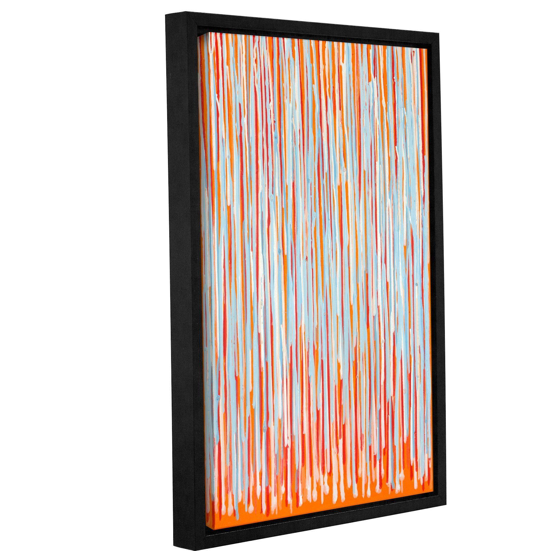 'Desjardins Fresh Orange' by Claire Desjardins Framed Painting Print
