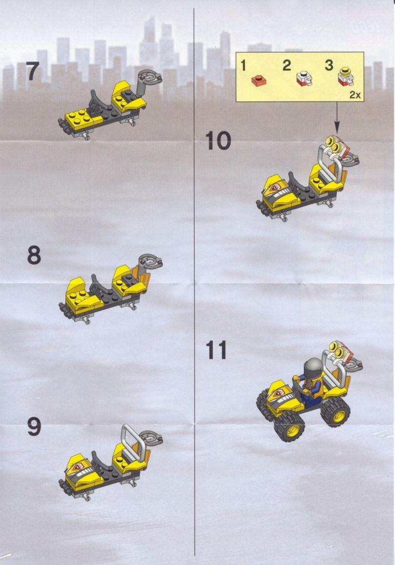 lego christmas building instructions