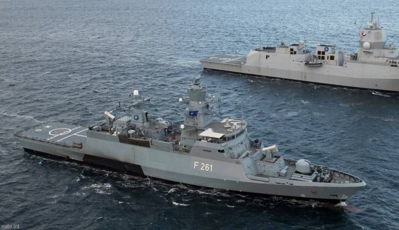 Class:     Corvette, Type K130, Braunschweig-class  Builder:     Lürssen-Werft, Bremen-Vegesack, Germany  STATUS:     Laid down: May 19, 2005  Launched: September 6, 2006  Commissioned: September 22, 2008  IN SERVICE