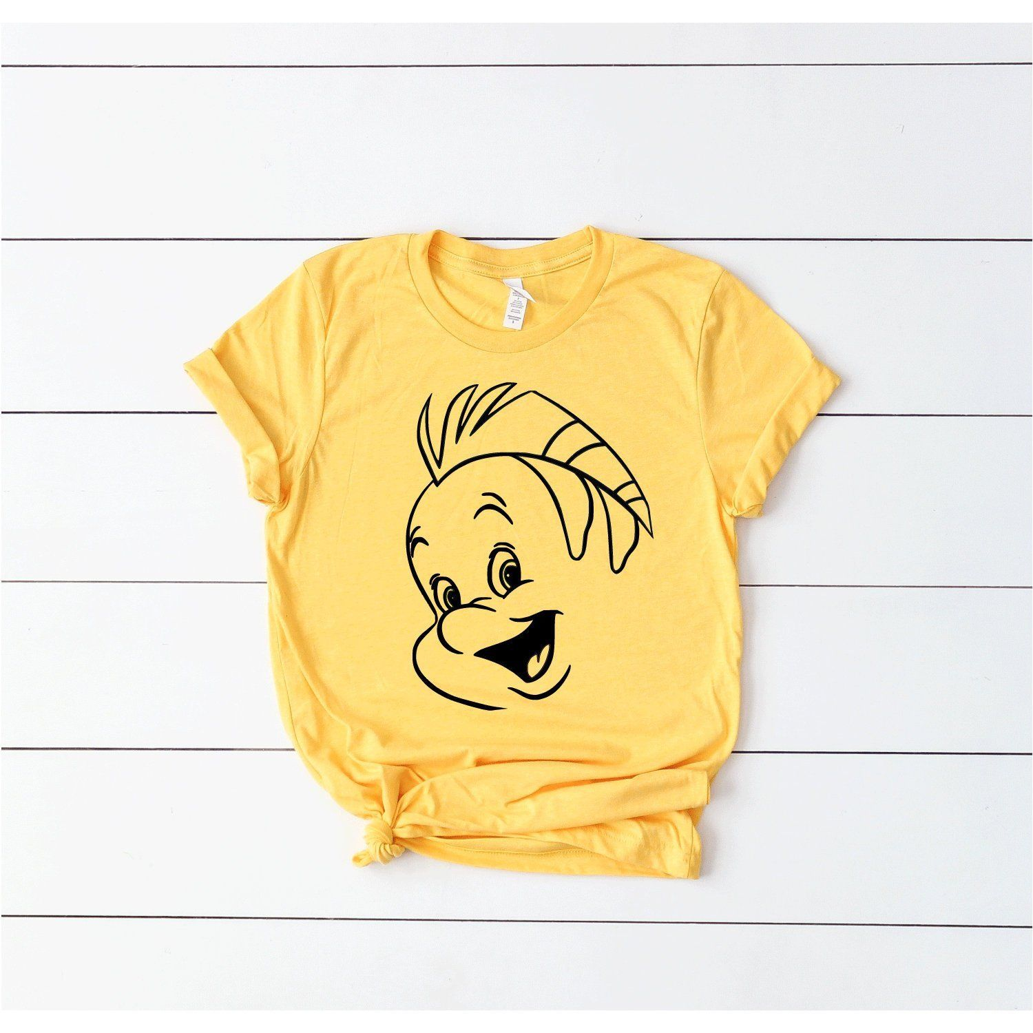 Flounder Disney Tee - Adult, Youth, Toddler, and Tanks ...