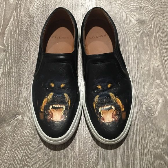 Givenchy Rottweiler skate shoes