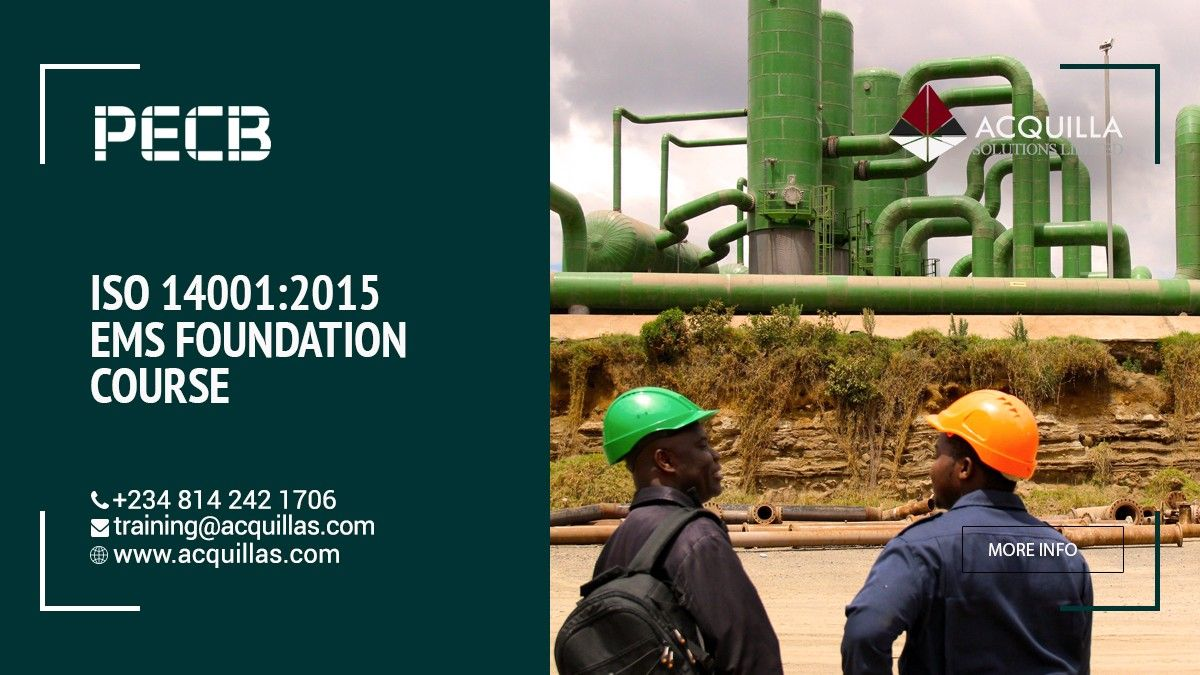 PECB ISO 140012015 EMS Foundation Course in 2020