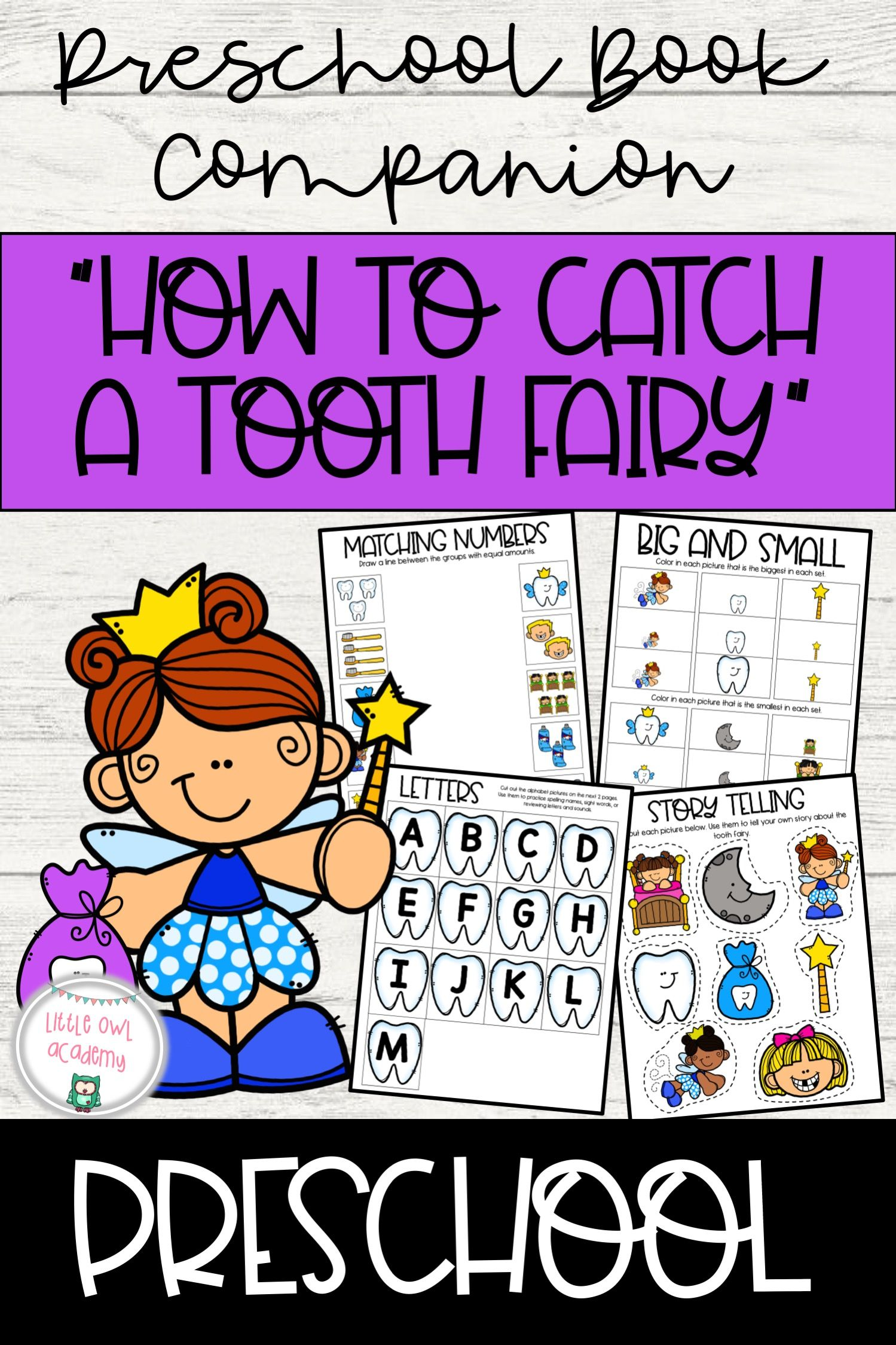 How To Catch A Tooth Fairy Book Companion