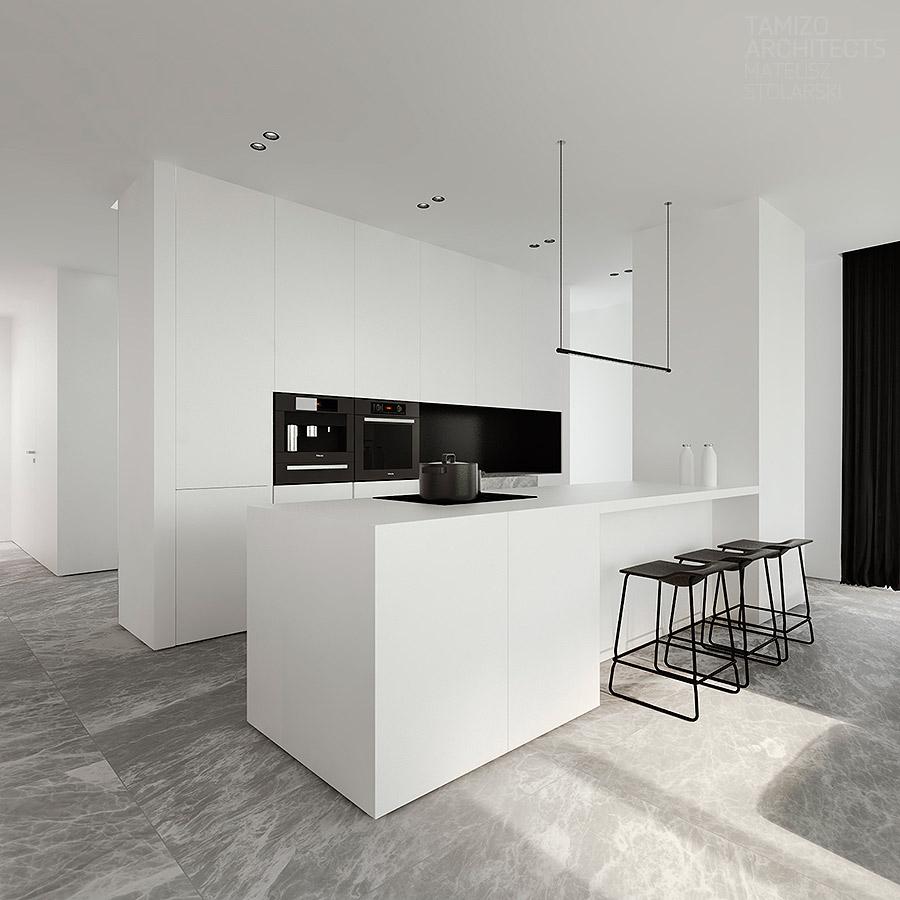 7 x 7 küchendesign elegante e curato  apartamento ric u gabi  pinterest  minimalist