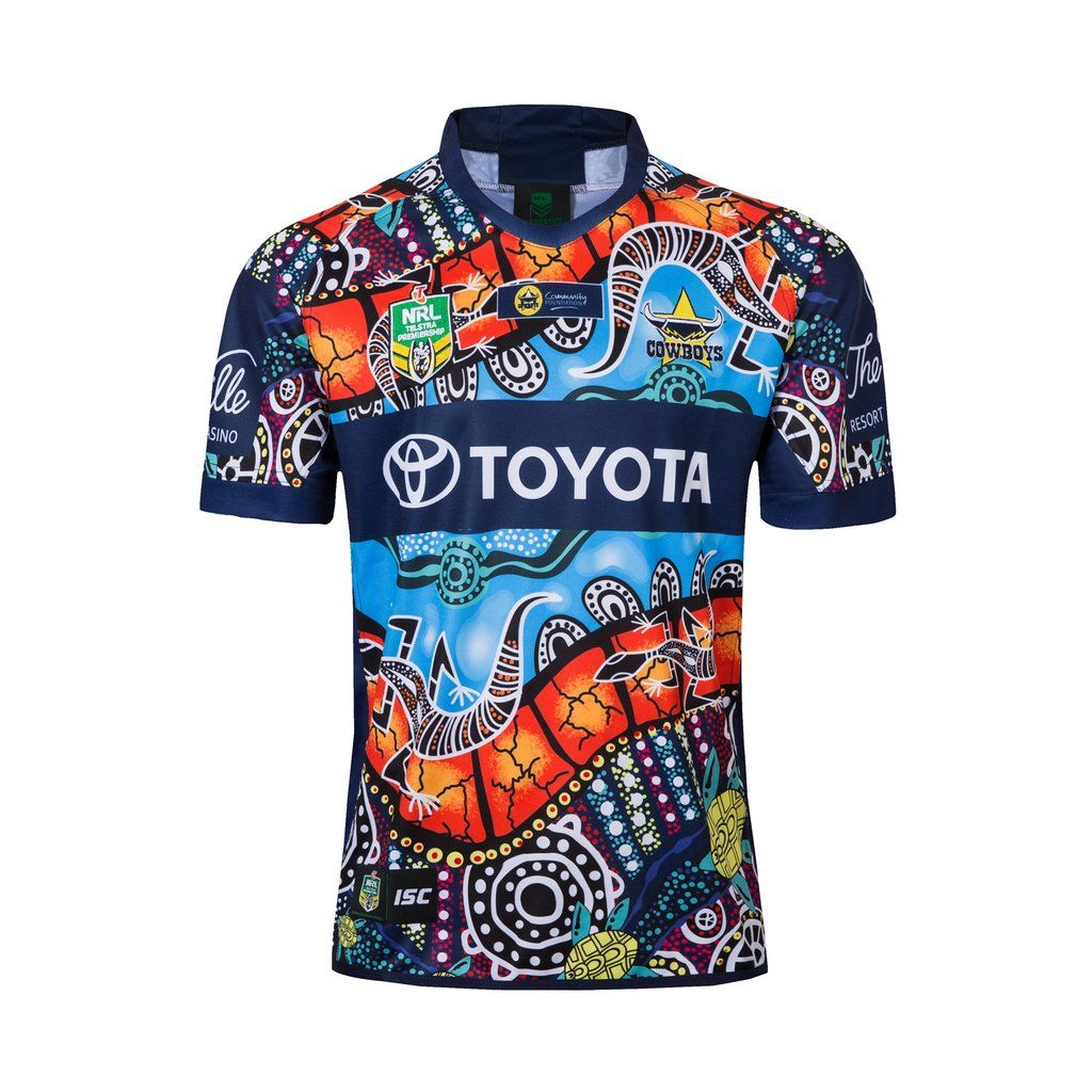 North Queensland Cowboys Rugby 2019 League Team Shirt Jersey Sport Mens Bnwt Camisetas De Rugby Camisetas Rugby