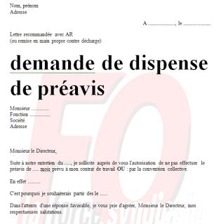 Lettre Demission Sans Preavis Word Doc Exemple Et Modeles De