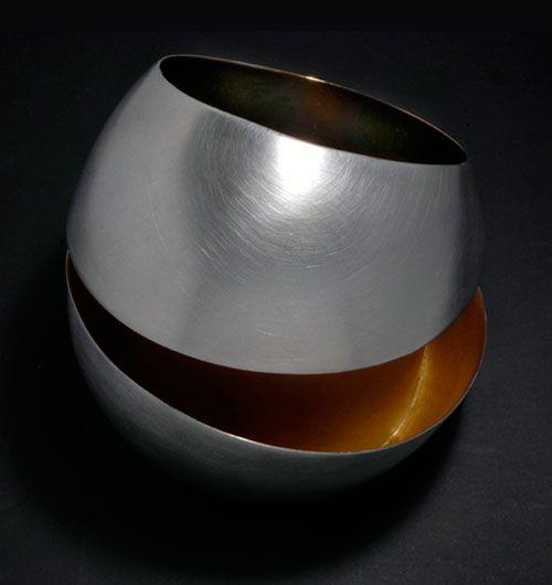 Rosalba Balsamo  Bracelet: Sphere 2008  Silver, gold - 7 Limited ed.