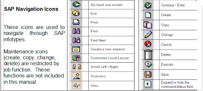 SAP Tips for HR: SAP Navigation Icons | SAP | Map