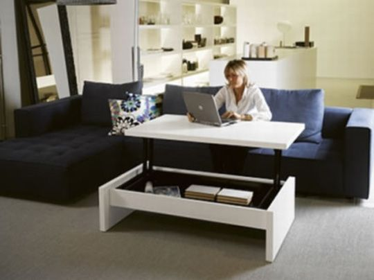 Look High Rise Coffee Table Furniture For Small Spaces Convertible Furniture Furniture