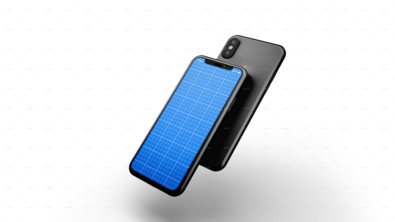 Phone X Mockup #Ad #Iphone, #SPONSORED, # ...