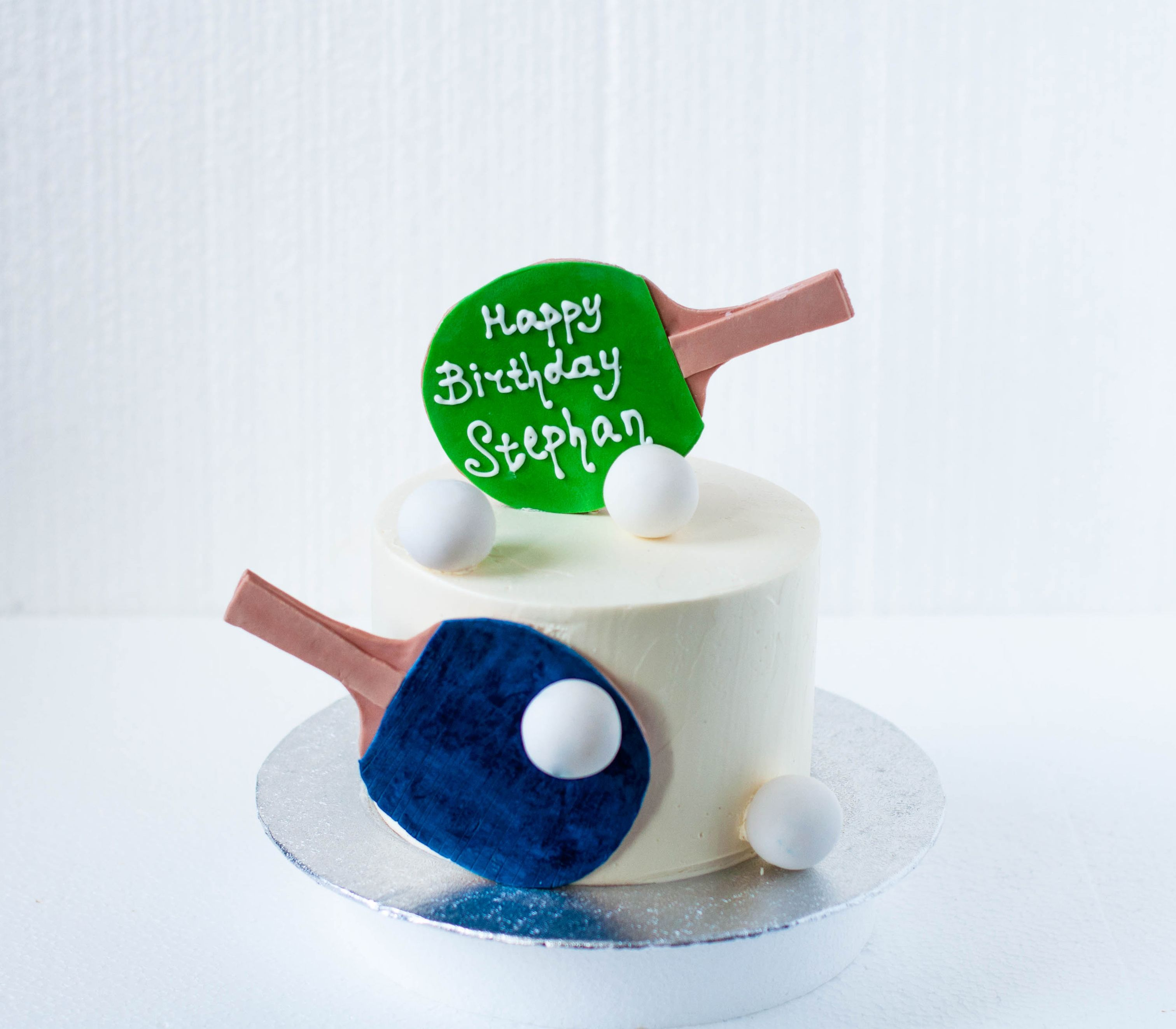 Ping Pong Themed Cake Tennis Cake Dad Birthday Cakes Birthday Cakes For Men