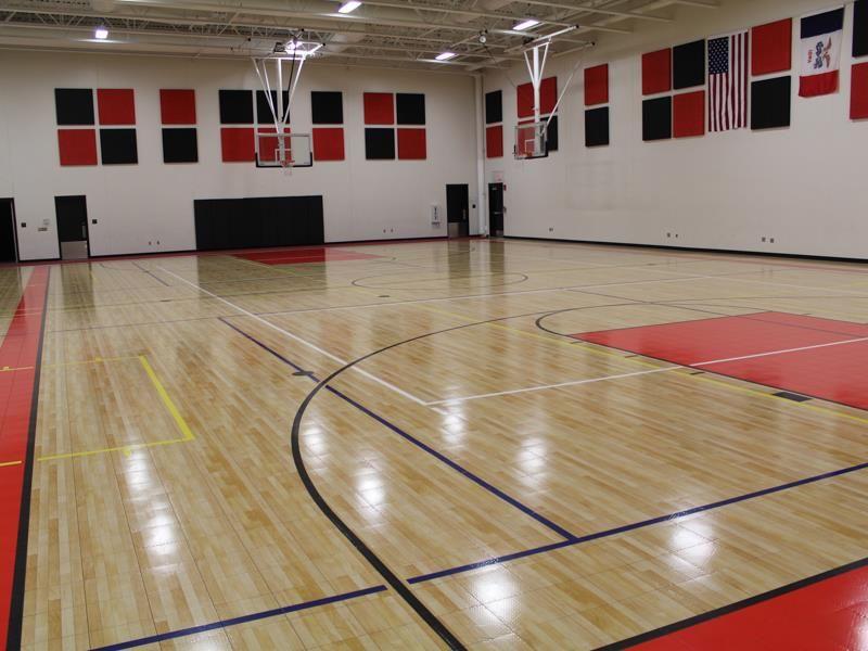 Sport Court Experienced Courtbuilders Sport Court Indoor Basketball Indoor Basketball Court Basketball Court