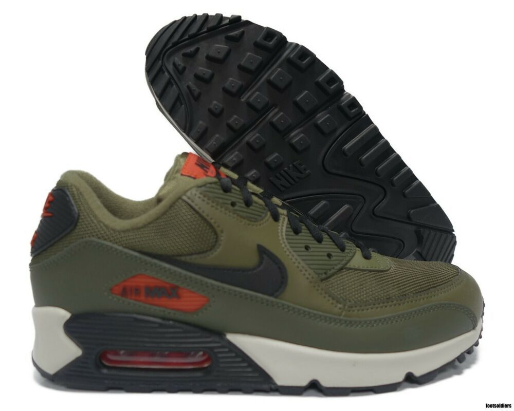 Nike NIKE Air Max 90 essential sneakers men AIR MAX 90 ESSENTIAL olive AJ1285 205