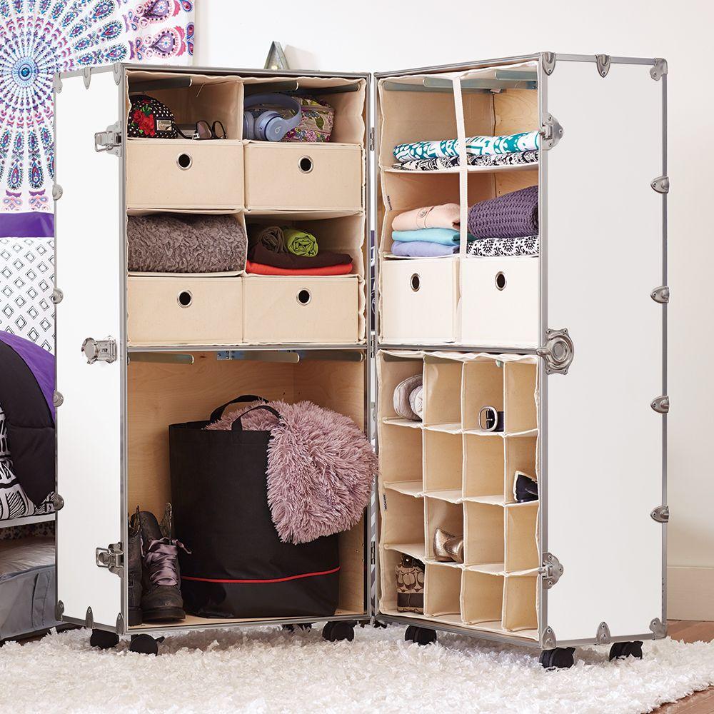 Armored Urban Wardrobe Storage Trunk Dorm Room And Apartment Ocm