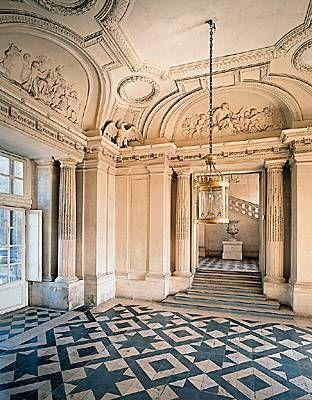 Fran ois mansart ch teau de maisons maisons laffitte le vestibule d honneur - Le cosy maison laffitte ...