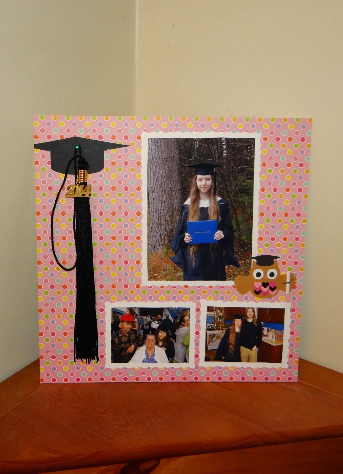 This DIY graduation photo frame and tassel holder is perfect for any ...