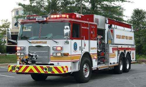 One Of Two Pierce Arrow Xt Dry Side Tankers Delivered To The