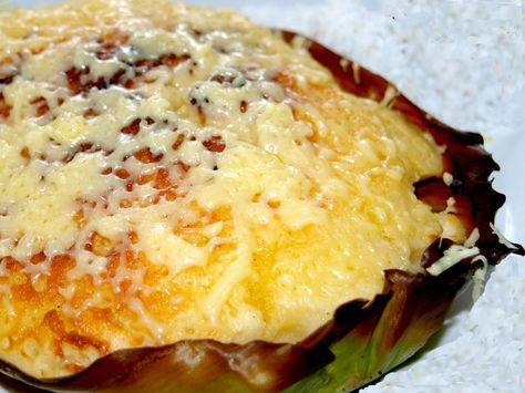 Bibingka Galapong or (Rice Cake Made of Milled Glutinous ...