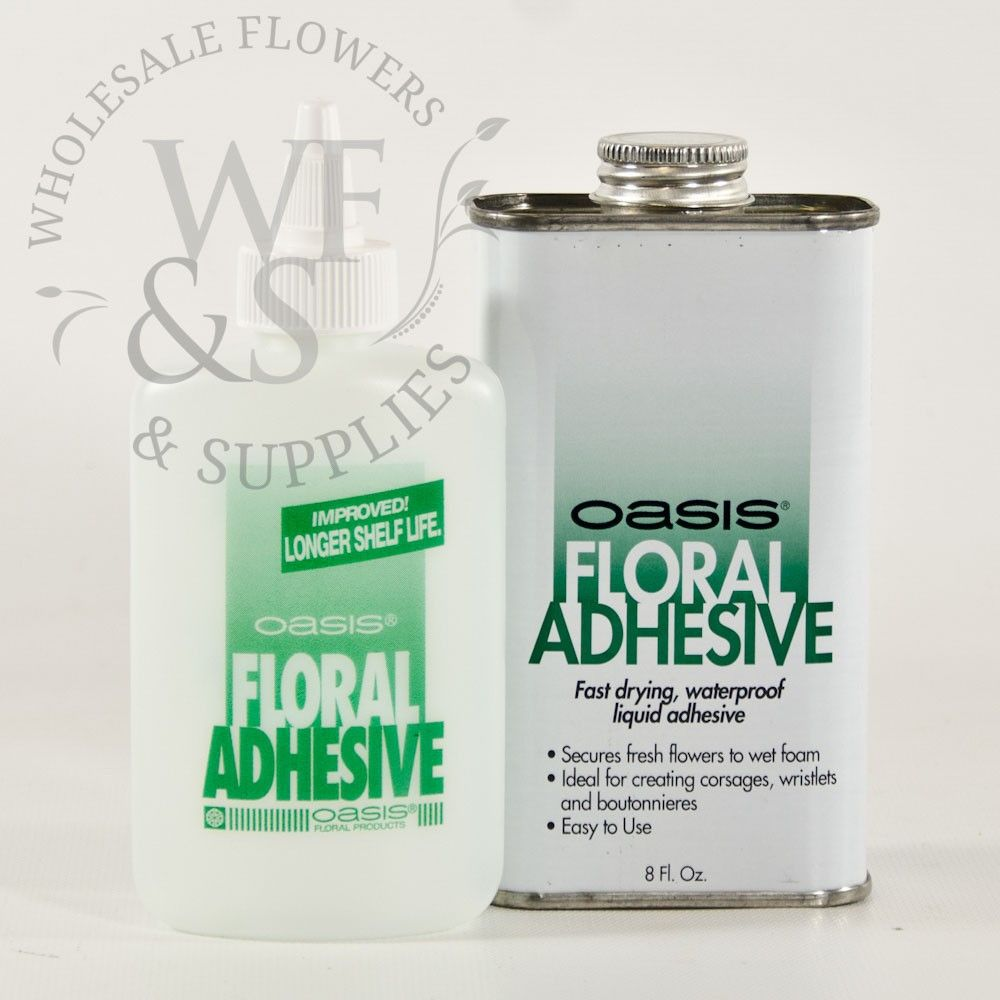 8oz Oasis Floral Adhesive Wholesale flowers, supplies
