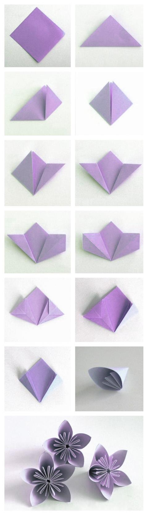 Diy Z Dekoria Pl Embroidered Towels Origami Crafts