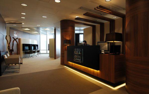 Dise o interior de oficinas de abogados buscar con for Peinture pour bureau professionnel