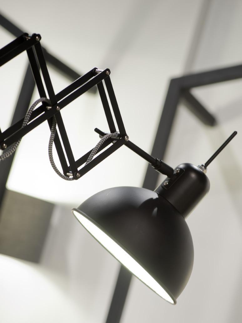 It\'s About RoMi Wandlamp Aberdeen Mat Zwart IJzer - Design meubelen ...