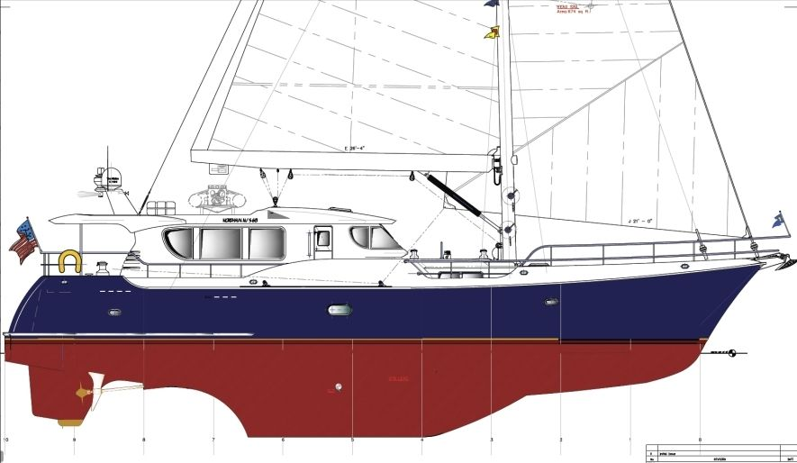 Only vessel BETTER that a Classic CatBoat is a well designed blue