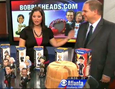 Here's Warren again, on the set of CBS 46 News in Atlanta