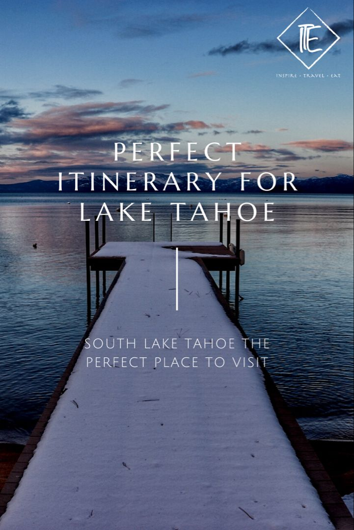 Summer and winter is a perfect time to visit Lake Tahoe. Here is a guide, tips, bars, restaurants and more. #laketahoe #southlaketahoe