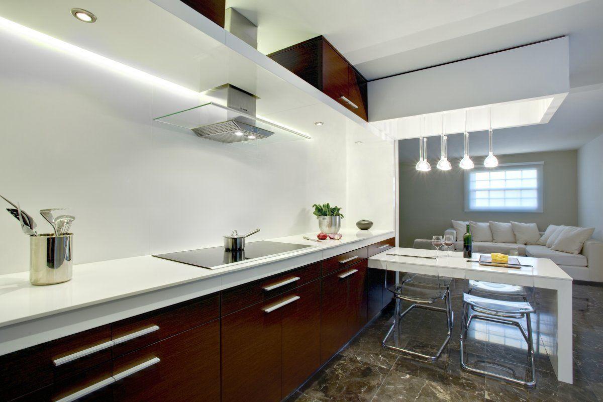 Kitchen Modern Kitchen Designs White Brown Color Combination Kitchen