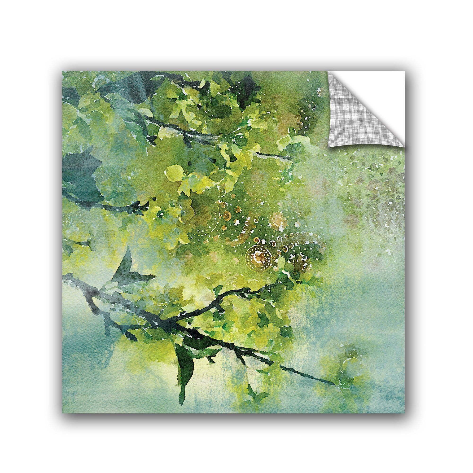 Irena Orlov Spring Green Color Palette Wall Mural | Products ...