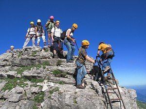 Klettersteig Kleinwalsertal : Klettersteige im kleinwalsertal in Österreich vorarlberg alpen